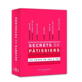 ALAIN DUCASSE - Livre de cuisine Secrets de pâtissiers, 180 cours en pas à pas