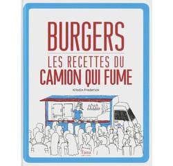 Achat en ligne Livre de cuisine Burgers du camion qui fume