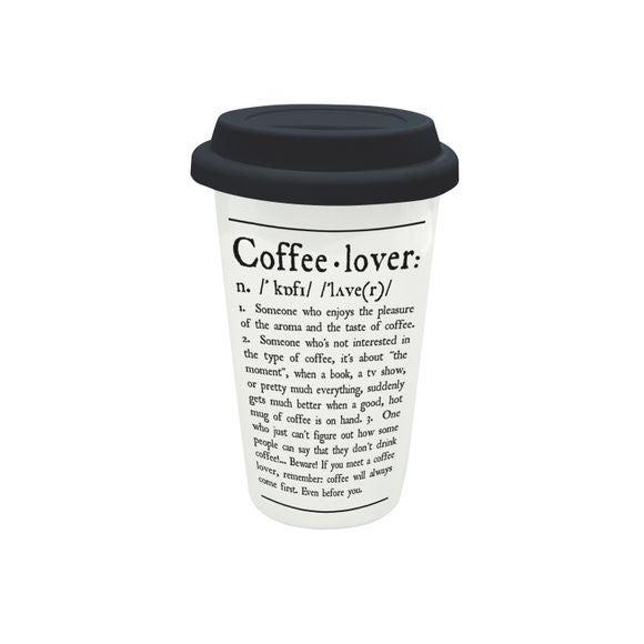 Travel mug coffee lover 30cl