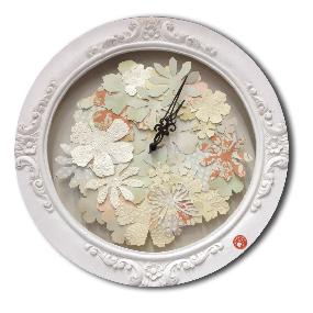 Horloge romantique