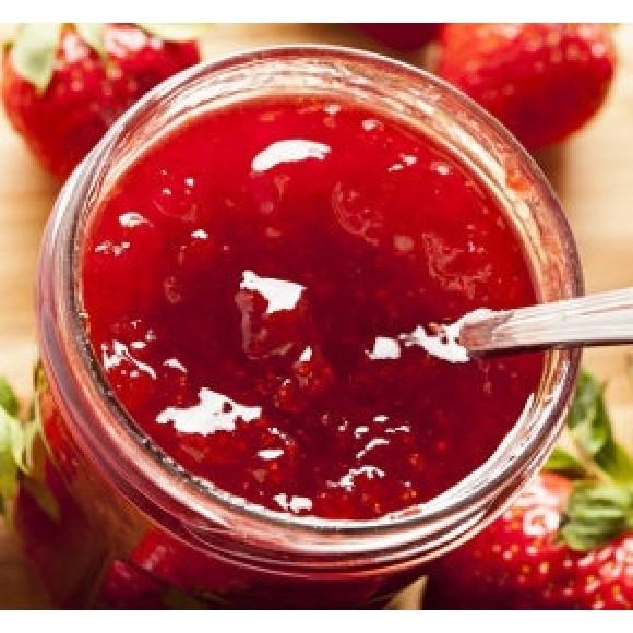 confiture de fraise au miel