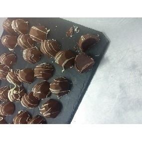 Bonbons chocolat au Jack Daniels