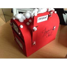 Ma boite à lettre pour le Père Noel