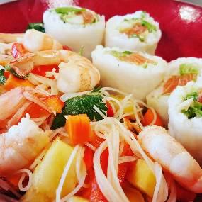 Salade fraicheur Asiatique