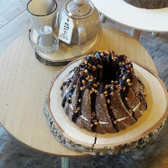 Bundt cake à la noisette