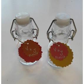 Mon cadeau d'invité : la bouteille en verre