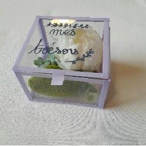 Mon coffret à bijoux en verre organique