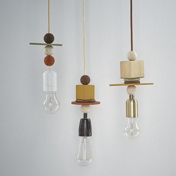 Mes suspensions luminaires géométriques - Fiche DIY Deco Zôdio
