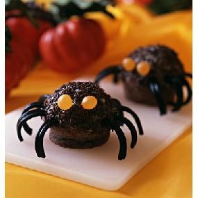 Muffins araignée