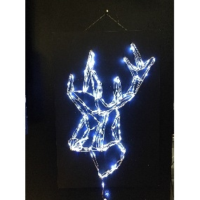 Tableau string art lumineux