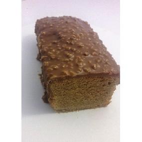 Cake au praliné glaçage rocher