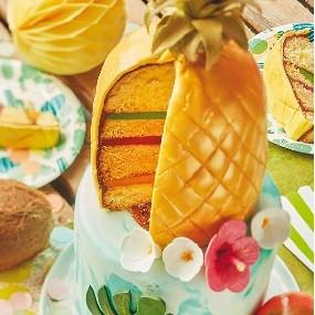 Cake design tropical