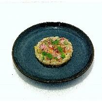 Ceviche de daurade au piment d'Espelette, agrumes et passion