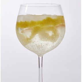 Cocktail gin tonic yuzu