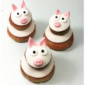 Religieuses mes trois petits cochons