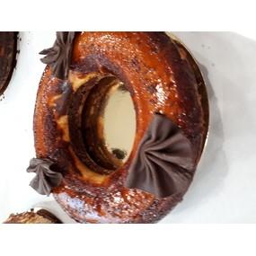 Gâteau impossible, flan et chocolat