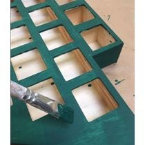 Calendrier de l'Avent sapin à tiroirs