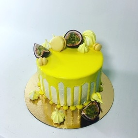 Layer cake mangue - passion