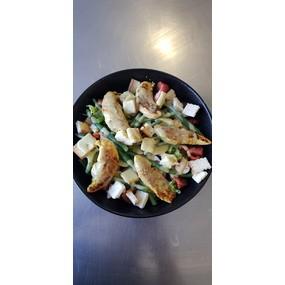 Salade césar revisitée.