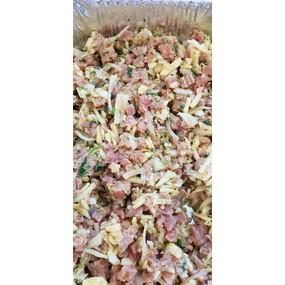 Ceviché de thon à la mexicaine et taboulé de quinoa