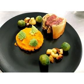 Croustillant de pigeon et foie gras