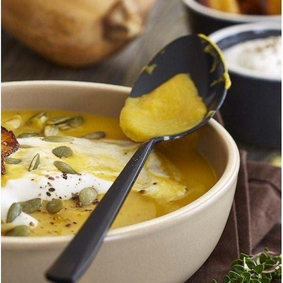 Achat en ligne Velouté et chips de butternut, crème au raifort