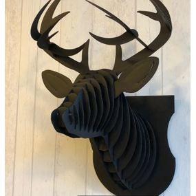 Mon trophée tête de cerf