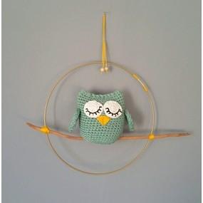 Suspension oiseau au crochet