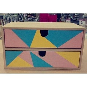 Ma boîte à tiroirs pastel