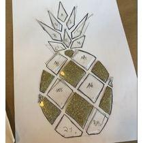 Mon tote bag Ananas origami !