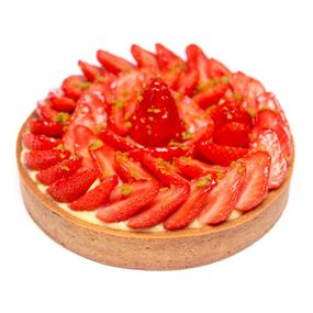 La tarte aux fraises