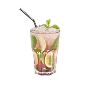 Mocktail hibiscus framboise