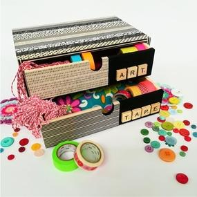 Decoro coi washi-tape
