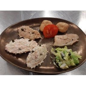 Trio de rillettes de poissons (saumon, julienne, maquereau)