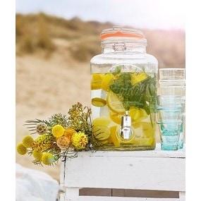 Cocktail détox - menthe citron