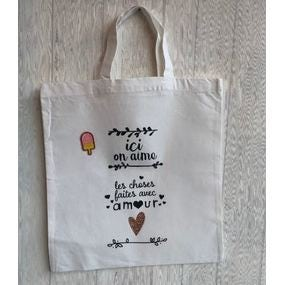 Mon tote bag customisé !