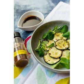 Courgettes grillées sauce mijotée au saté par stella cuisine