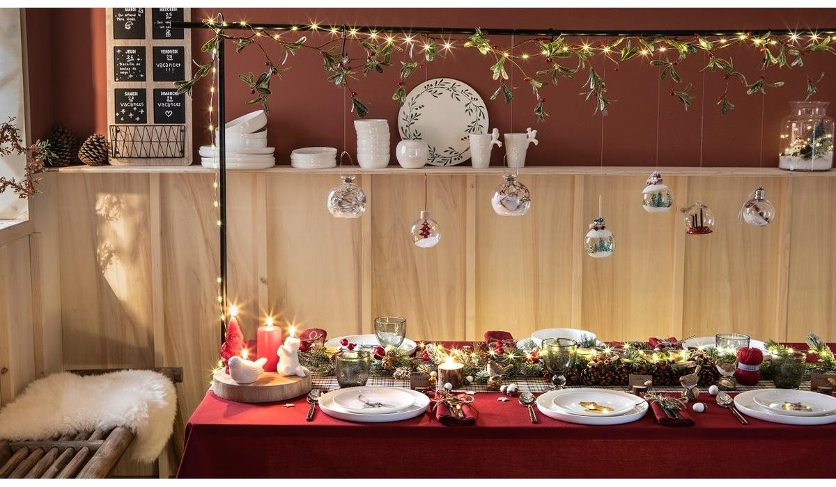 Idées Déco Pour La table, Collection Noël des champs Zôdio