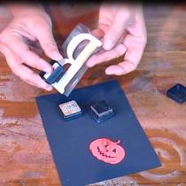 Card 3D HALLOWEEN