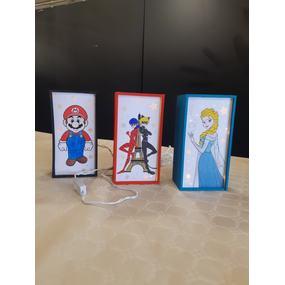 Light box personnages de dessin animé