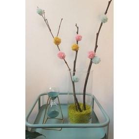 Tuto créatif mon arbre à pompons