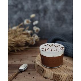 Crème chocolat façon liégeois