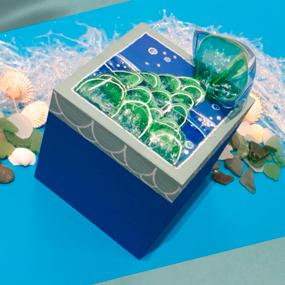Reciclaje creativo: caja de sirena con botellas de plástico