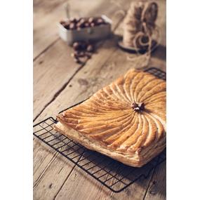 Recette facile galette des rois frangipane chocolat poire