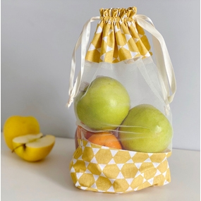 Realizza una borsa in tessuto per la spesa