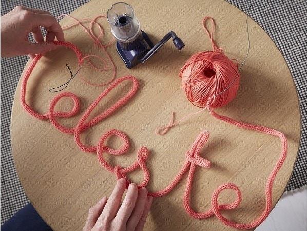 Vive le tricotin !