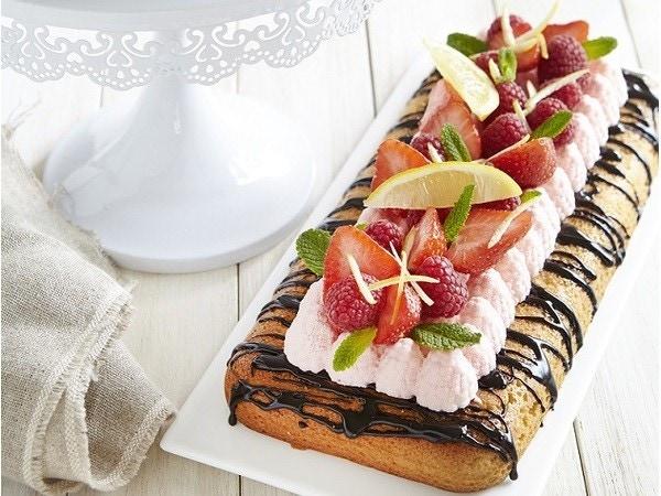 Gâteaux aux fruits rouges