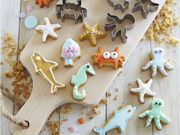 Biscuits sablés sous l 'océan