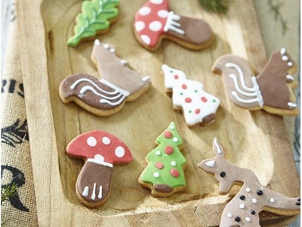 Mes biscuits animaux de la forêt