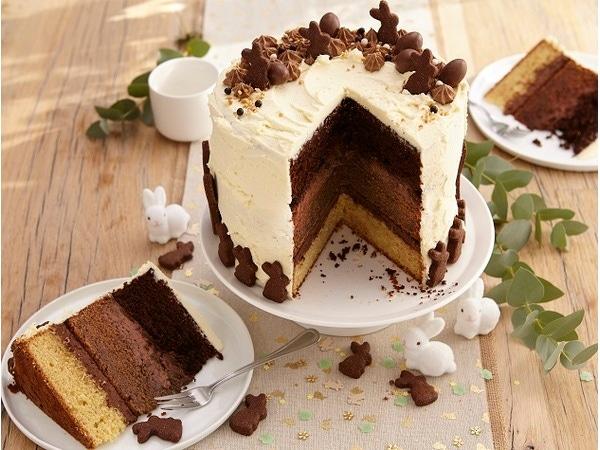 Mon gâteau au chocolat de Pâques